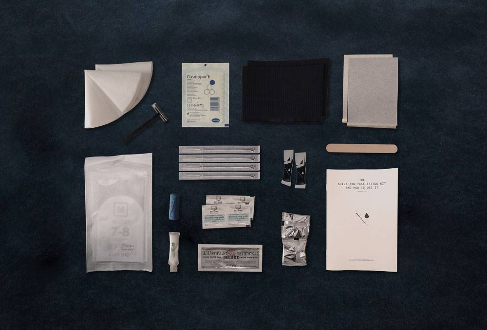 stick and poke tattoo kit